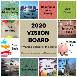 2020 Vision Board