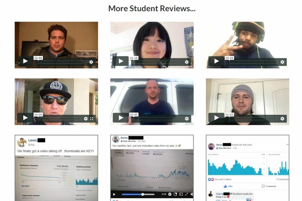 Tube Mastery Student Reveiws