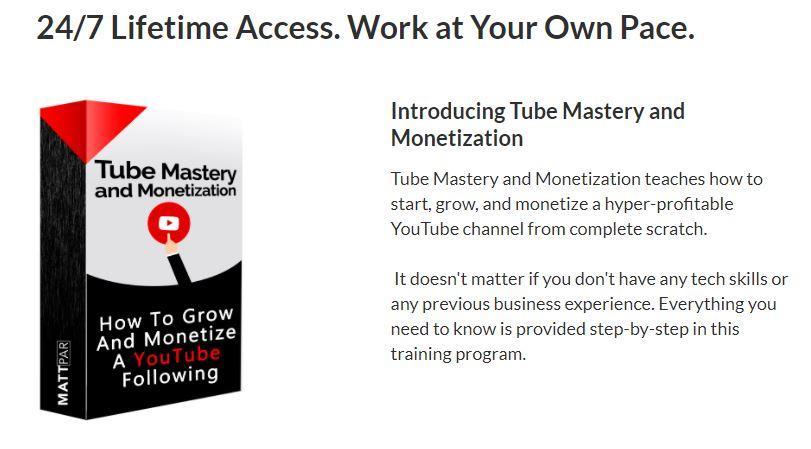Matt Pars tube mastery and monetization
